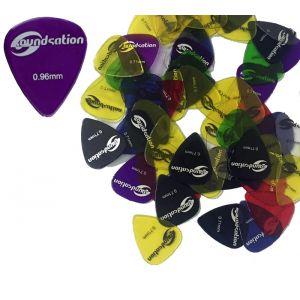 Box Plettri (72 pezzi) per chitarra nylon 0.96