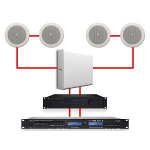 Apart Impianto Audio ad Incasso per Filodiffusione 4.1 280W