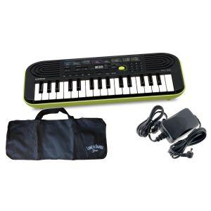 CASIO SA46-LK Tastiera 32 Tasti Mini / Minibag / Alimentatore Bundle