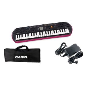CASIO Set Tastiera SA78 / Minibag / Alimentatore Bundle