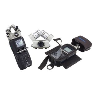 ZOOM Set H5 Registratore Digitale / XYH-6 Capsula / PCH-5 Custodia Bundle