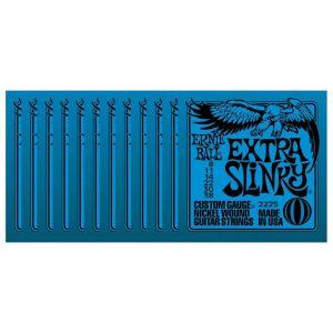 ERNIE BALL 2225 - Confezione da 12 Mute Extra Slinky 008-038