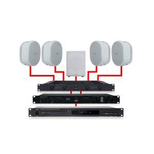 Apart Kit Filodiffusione 4.1 Bianco 460W