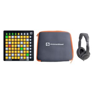 NOVATION DJ PACK Launchpad Mini MKII / Custodia / Cuffie Stereo