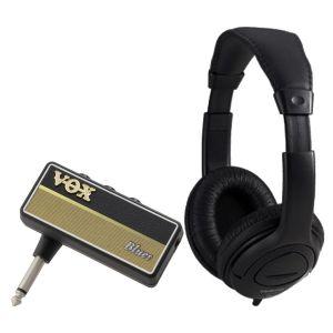 Vox Amplug 2 Blues Bundle - Mini amplificatore a Jack per Chitarra con Cuffia