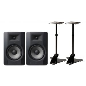 M-AUDIO BX8 D3 (Coppia) Monitor da Studio, Supporti