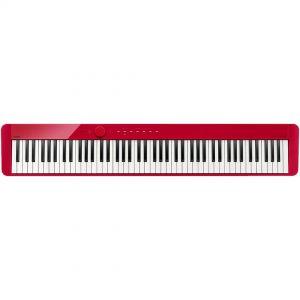 Casio Privia PX-S1000RD Pianoforte Digitale Compatto Portatile 88 Tasti Hammer