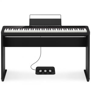 Casio Privia PX S1000 BK Set - Pianoforte Digitale 88 Tasti con Stand e Pedaliera