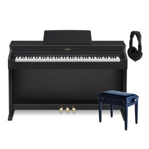 Casio AP 470 Celviano Black Home Set - Piano Digitale / Panchetta / Cuffie