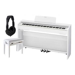Casio Privia PX-870 White Home Set - Pianoforte Digitale / Panchetta / Cuffie