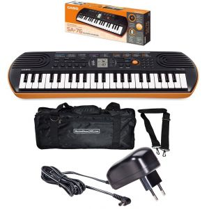 CASIO SA76 Kids Pack SA76 Tastiera / MiniBag / Alimentatore Bundle
