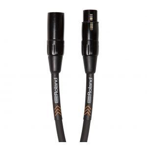 ROLAND Cavo Microfonico Serie Black XLR/XLR 4.5mt