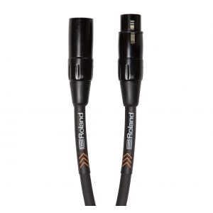 ROLAND Cavo Microfonico Serie Black XLR/XLR 7.5mt