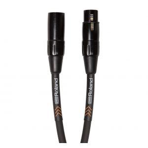 ROLAND Cavo Microfonico Serie Black XLR/XLR 3mt