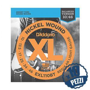 D'Addario 10 x EXL110BT - 10 Mute per Elettrica (010/046)