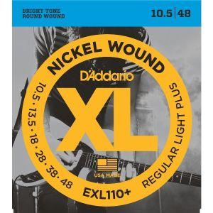 D'ADDARIO EXL110+ Muta Corde per Chitarra Elettrica (10.5-48)