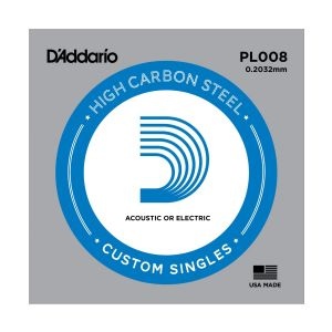 D'ADDARIO PL008 - Corda per chitarra acustica/elettrica
