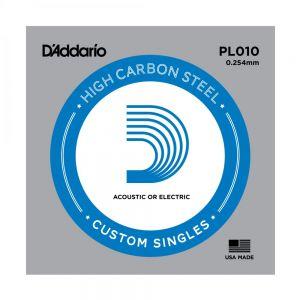 D'ADDARIO PL010 - Corda per chitarra acustica/elettrica