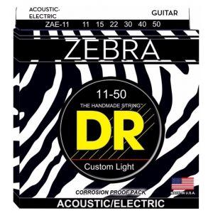 DR Strings ZAE11 Corde Zebra 11-50