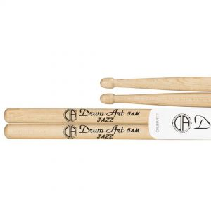 Drum Art Maple 5AM Jazz - Coppia Bacchette in Acero per Batteria Punta a Ghianda