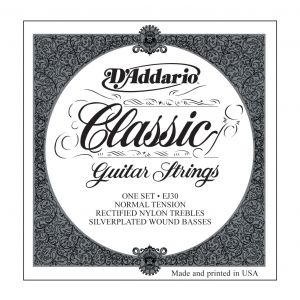 D'ADDARIO EJ30 - Muta per Chitarra Classica Normal Tension (028/043)