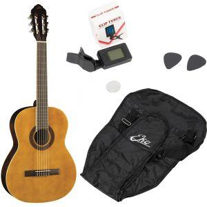 EKO CS10 PACK Chitarra Classica 4/4 pack da studio con borsa, accordatore pitch e plettri