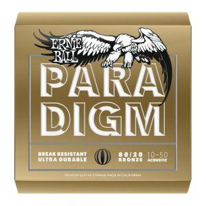 ERNIE BALL 2090 PARADIGM - Muta per Acustica 80/20 Bronze Extra Light (010/050)