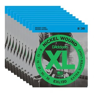 D'ADDARIO EXL130 - Set da 10 Mute X-Super Light (008-038)