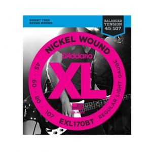 D'ADDARIO EXL170BT - Muta per Basso Elettrico Balanced Tension Regular Light (045/107)