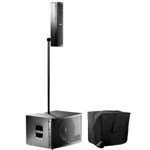 FBT CS1000 Sistema Audio Subwoofer 600W + Satellite 400W + Borsa