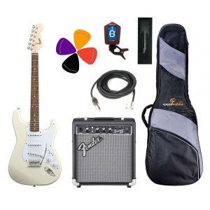 Fender Squier Strato Starter Pack White
