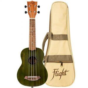 Flight NUS380 Kit Ukulele Soprano Jade con Custodia