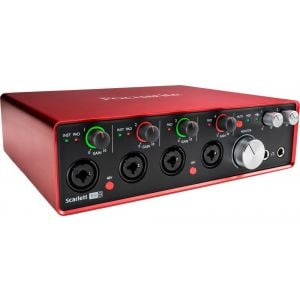 Focusrite Scarlett 18i8 2nd Generation Scheda Interfaccia Audio MIDI USB
