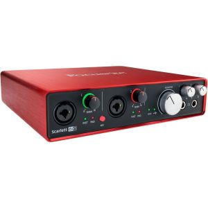 Focusrite Scarlett 6i6 2nd Gen Scheda Interfaccia Audio MIDI USB 6in/6out