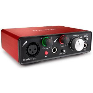 FOCUSRITE Scarlett Solo 2nd Generation MK2 Scheda Interfaccia Audio MIDI USB