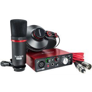 Focusrite Scarlett Solo Studio 2nd Generation Scheda Interfaccia Audio MIDI USB