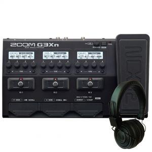 Zoom G3Xn Pack - Pedaliera Multieffetto con Cuffie