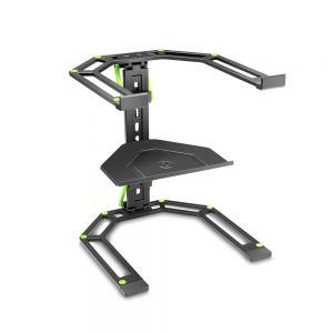 Gravity LTS01B Supporto Regolabile Laptop Mixer DJ PC Portatile Stand Leggio
