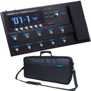 Boss GT1000 Pack - Pedaliera Multieffetto con Borsa