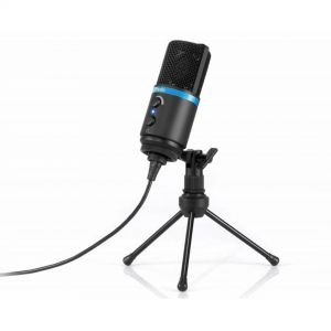 IK Multimedia iRig Mic Studio Black Microfono Usb per Iphone Ipad Mac Pc Android