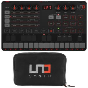 IK Multimedia UNO Synth con Travel Case