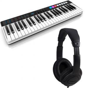 IK Multimedia iRig Keys I/O 49 con Cuffia