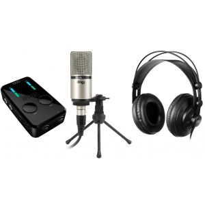 Ik Multimedia iRig PRO Duo Studio Suite Bundle - Kit per Produzioni Audio