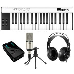 Ik Multimedia iRig PRO Duo Studio Suite Deluxe - Kit per Produzioni Audio