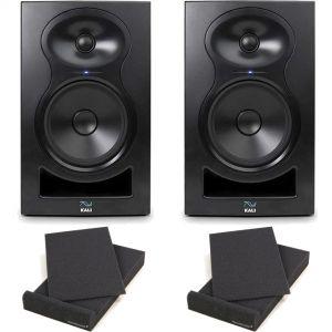 Kali Audio LP-8 Coppia Monitor Attive 100W 8 + 2 Pad Isolante (26,5x33x4cm)