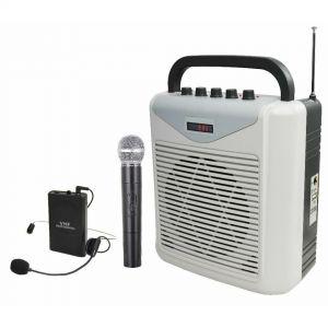 Karma BM 861MP3-A Cassa Diffusore Amplificato con 2 Radiomicrofoni Portatile