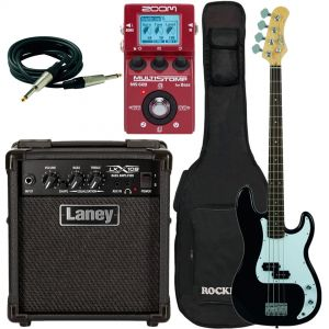 Eko VPB100 Black Pack con Laney LX10B Zoom MS-60B Borsa e Cavo
