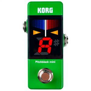 Korg Pitchblack Mini Green Accordatore a Pedale Verde