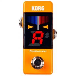 Korg Pitchblack Mini Orange Accordatore a Pedale Arancione