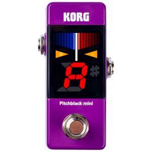 Korg Pitchblack Mini Purple Accordatore a Pedale Viola